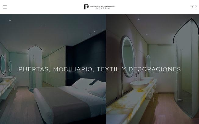 Diseño página web Contract Int