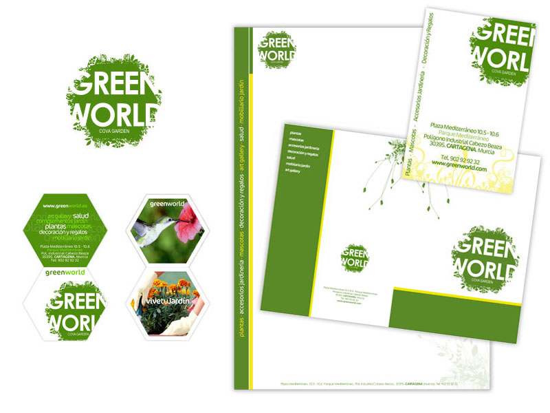 Diseño gran superficie - Green World - Brande Comunicación 01