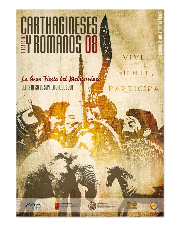 Cartel Carthagineses Romanos - Brande Comunicación 02