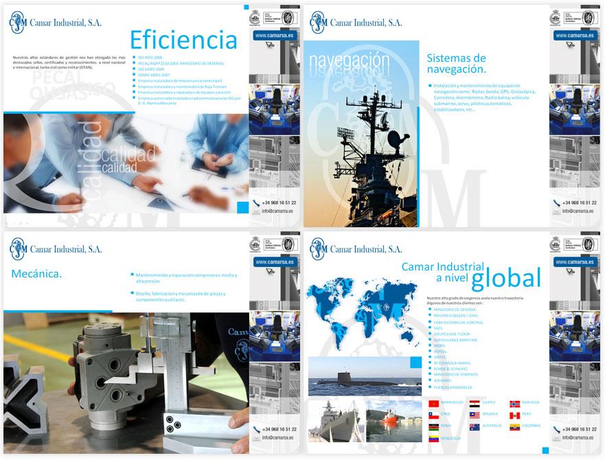 Camar Industrial - Brande Comunicación 01