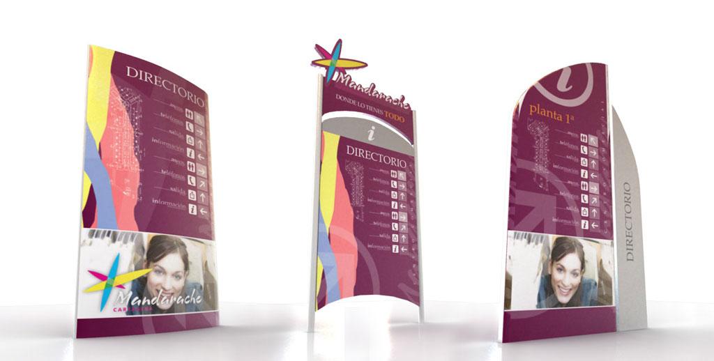 Señalética 3D - Brande Comunicación 01