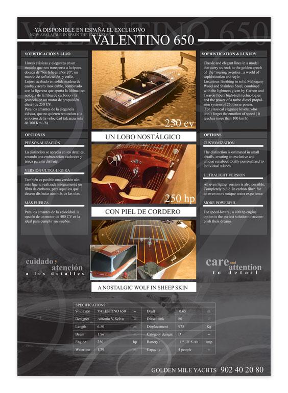 Anuncio - Valentino 650 - Brande Comunicación 01
