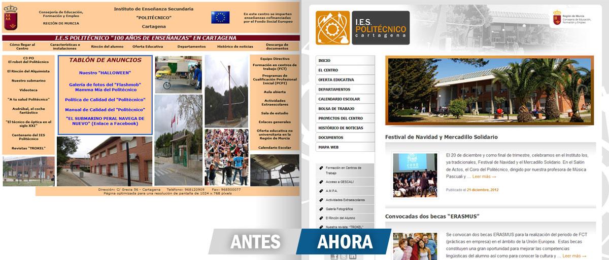 I.E.S. Politécnico Cartagena - Brande Comunicación 01