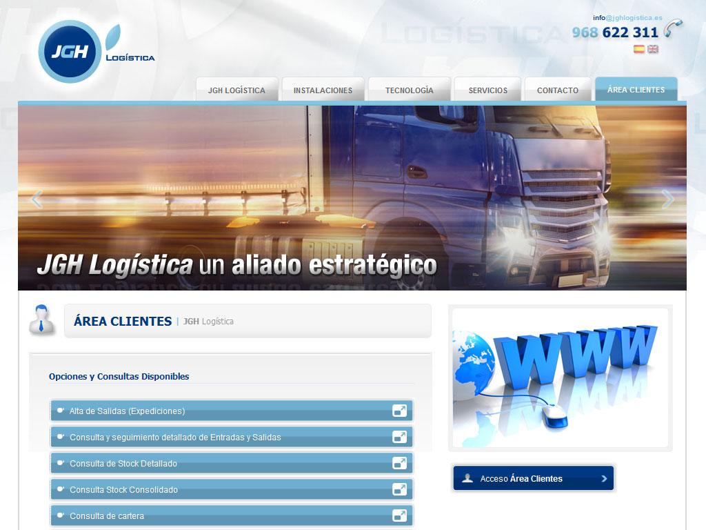 JGH Logística - Brande Comunicación 01