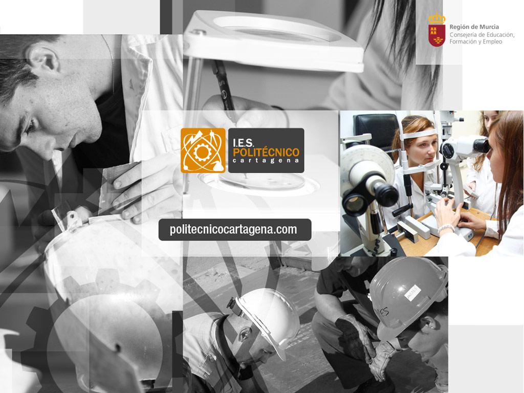 Diseño presentación - I.E.S. Politécnico Cartagena - Brande Comunicación 02