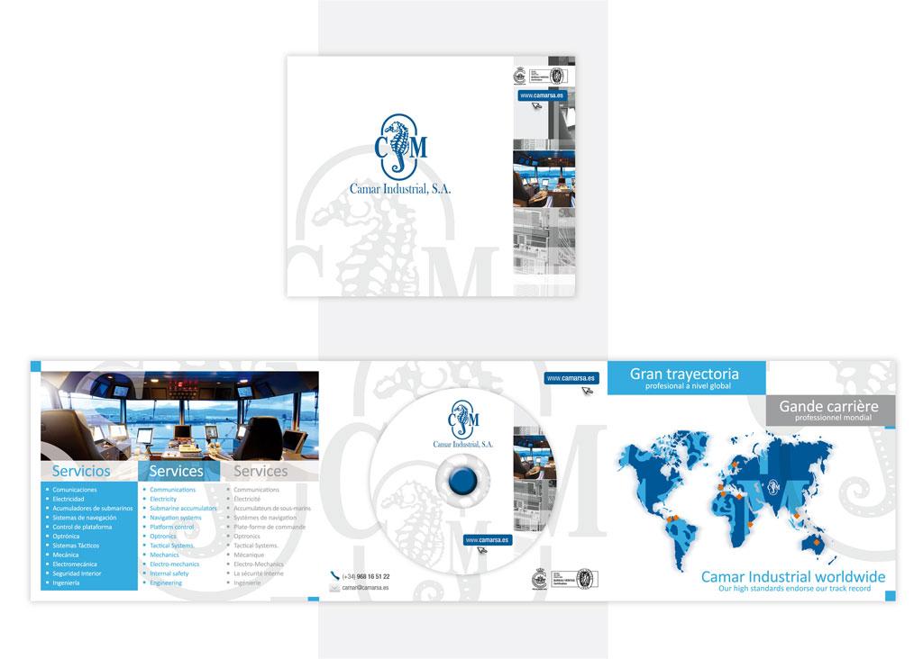 Packaging y catálogo - Camar Industrial - Brande Comunicación 01