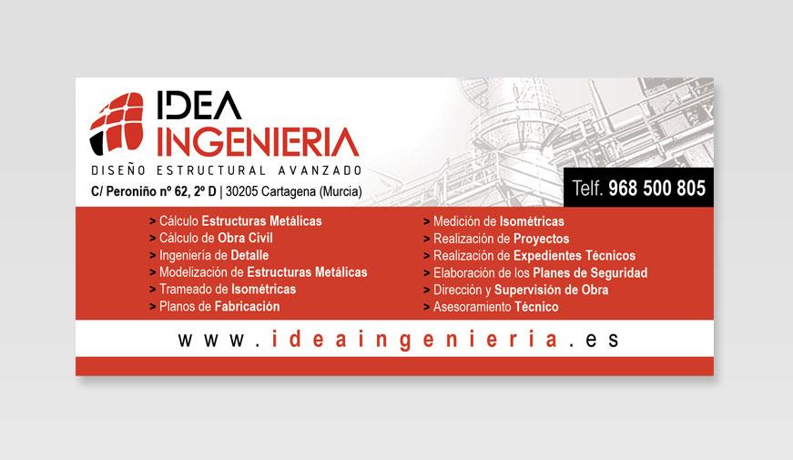 Rótulo Idea Ingeniería - Brande Comunicación 01