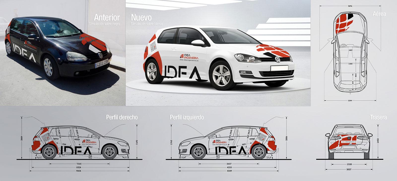 Idea Ingeniería Vehículo - Brande Comunicación 01