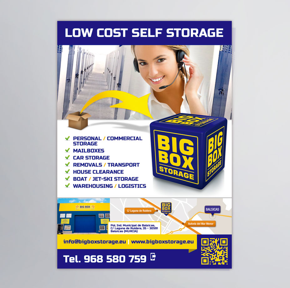 Flyers - Big Box Storage - Brande Comunicación 01