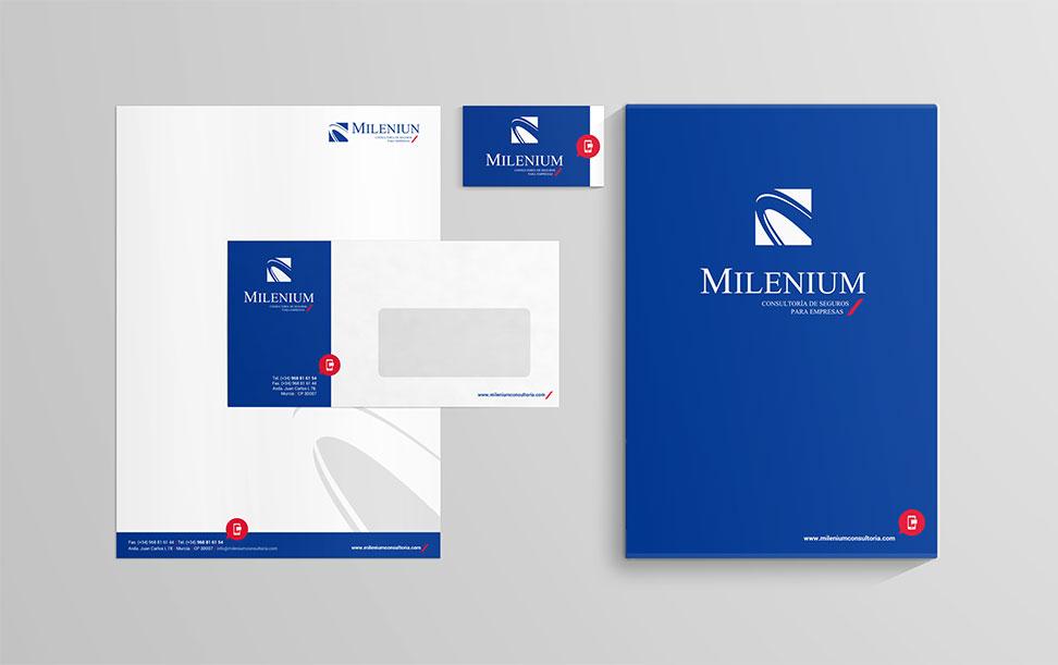 Milenium Imagen Corporativa - Brande Comunicación 01