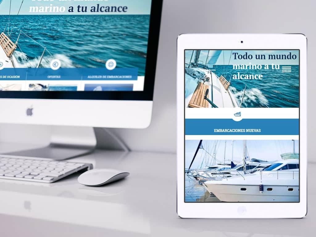 Diseño página web corporativa y catálogo de productos