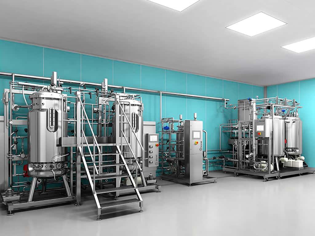 Modelado 3D instalación equipos