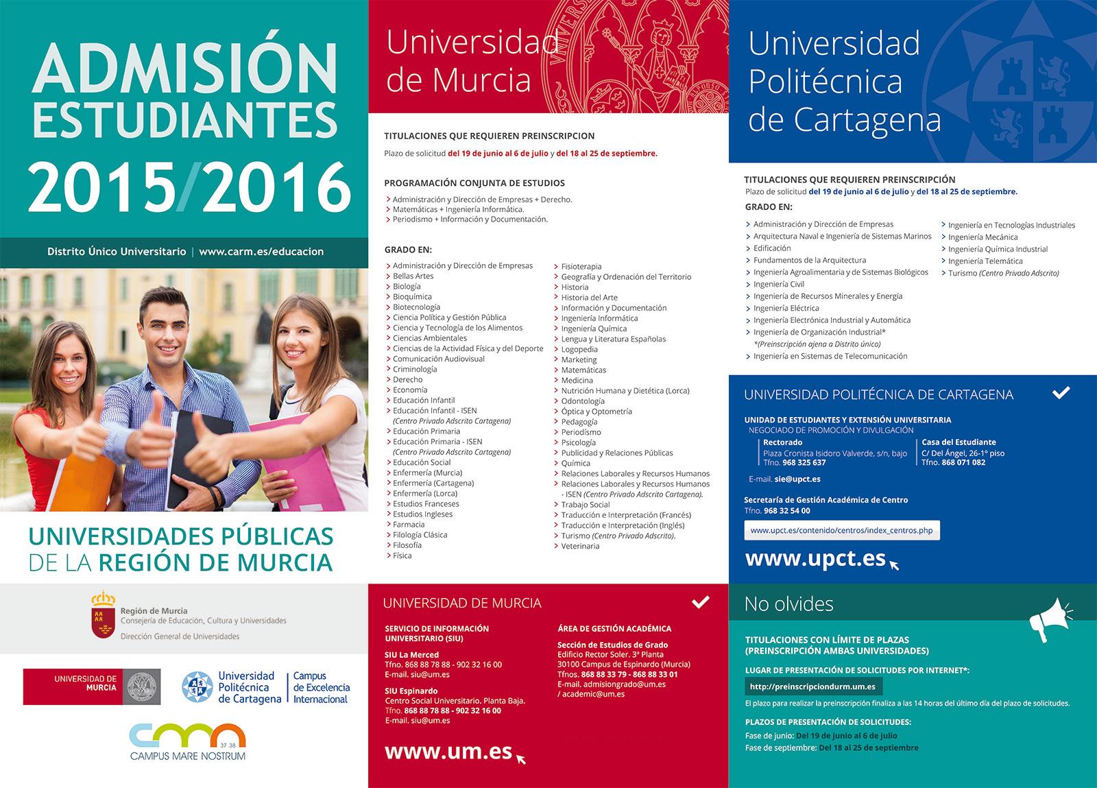 Cartel UPCT Alumnos 2015 - Brande Comunicación 01
