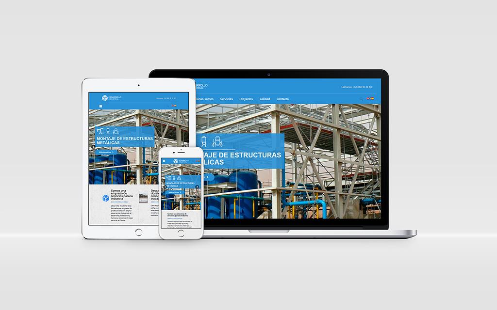 desarrollo industrial web - Brande Comunicación 01