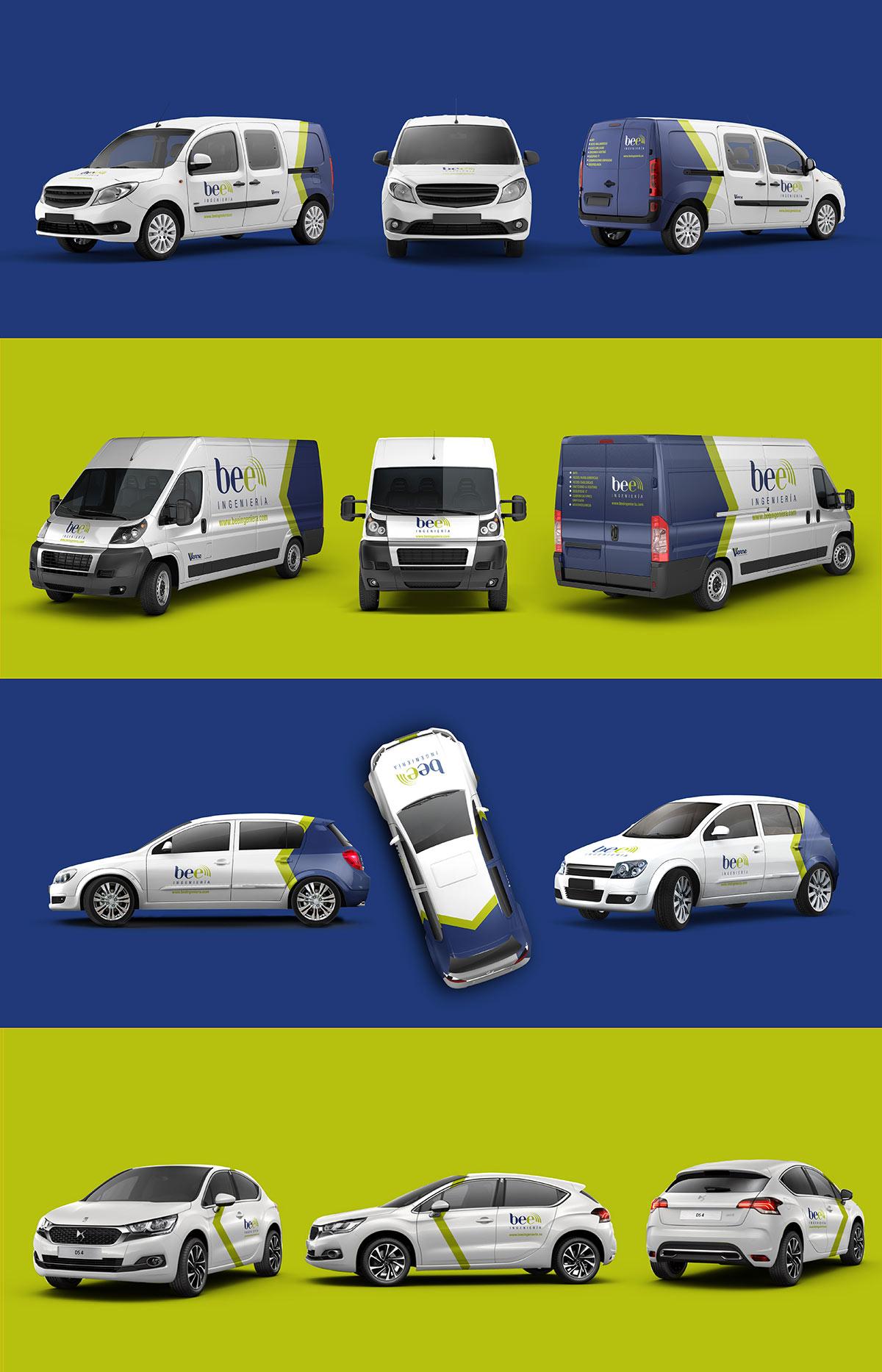 Diseño de rotulación de furgoneta - Brande Comunicación 02