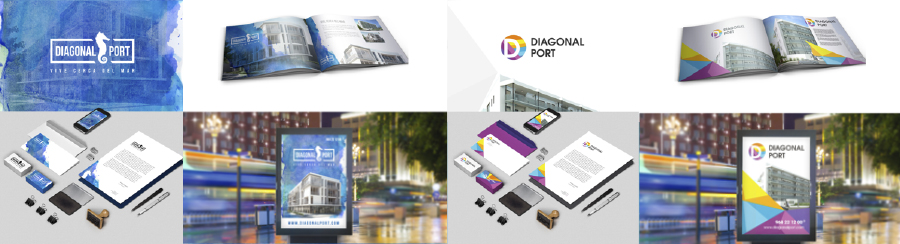 Diseño material publicitario promoción inmobiliaria - Brande Comunicación