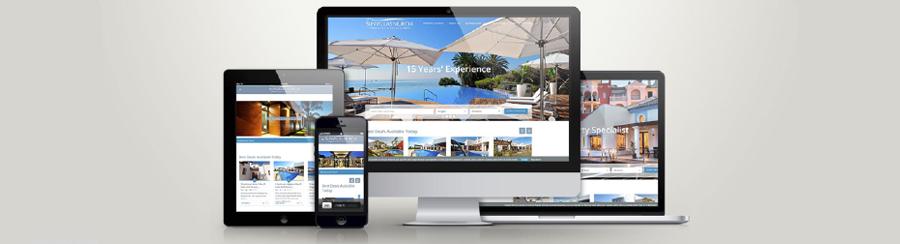 Diseño web inmobiliario