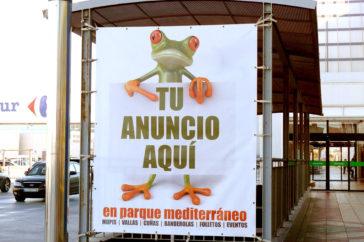 Carteleria, vallas - Soportes publicitarios - Parque mediterraneo