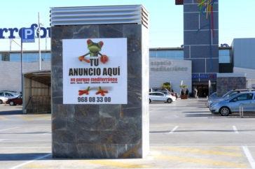 Carteles, publicidad exterior - Soportes publicitarios - Parque mediterraneo