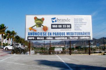 Valla carretera, publicidad exterior - Soportes publicitarios - Parque mediterraneo