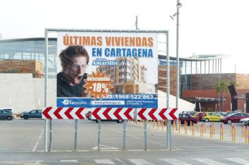Vallas, banderolas, publicidad - Soportes publicitarios - Parque mediterraneo