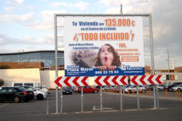 Vallas, carteles, publicidad - Soportes publicitarios - Parque mediterraneo