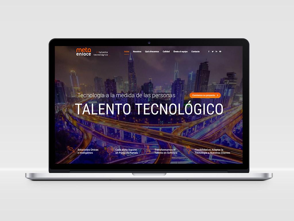 Diseño página web Metaenlace