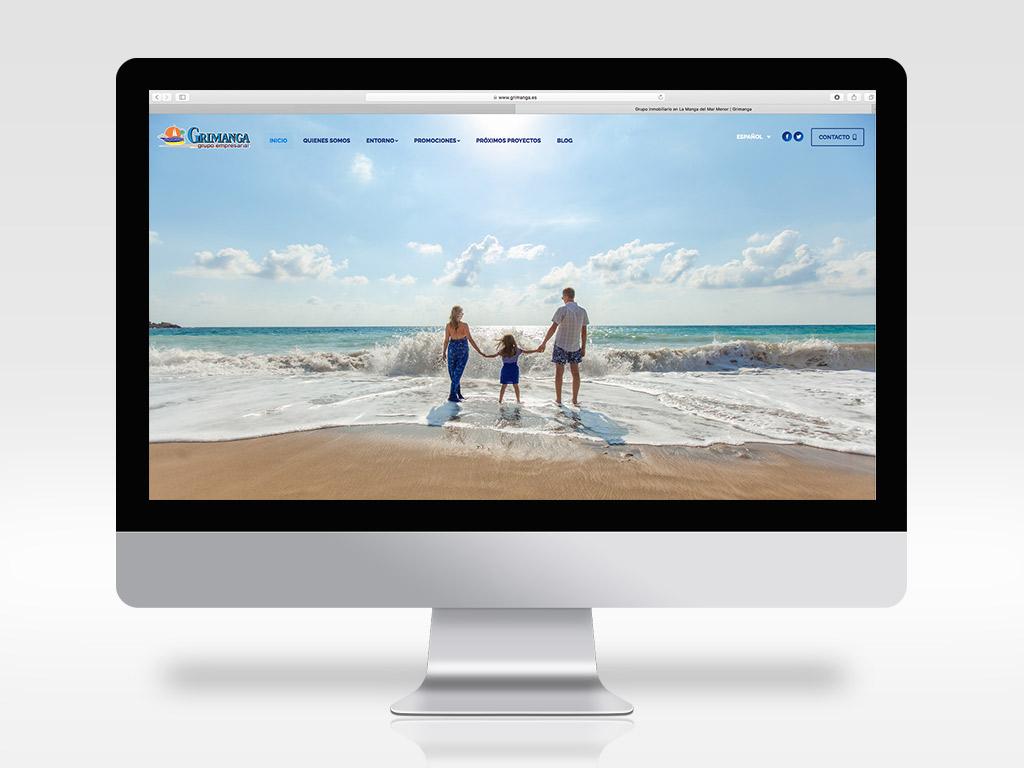 Diseño de página web constructora inmobiliaria
