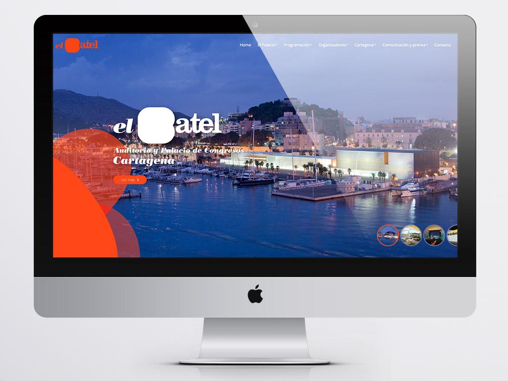 Página Web Auditorio El Batel - Cartagena