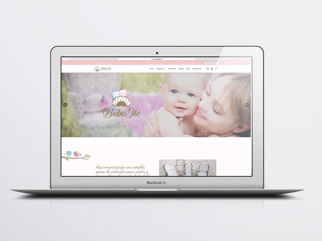 Tienda online bebé olé
