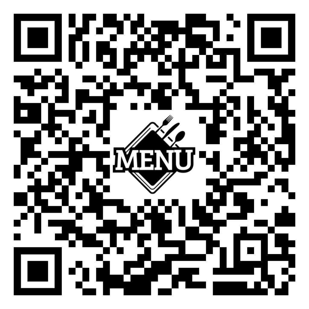 ejemplo código qr para restaurantes, bares y cafeterías