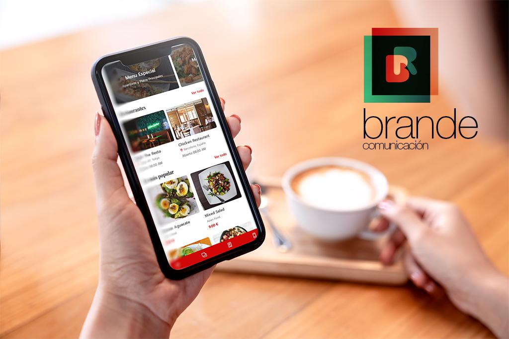 web app para restaurantes cafeterías y bares