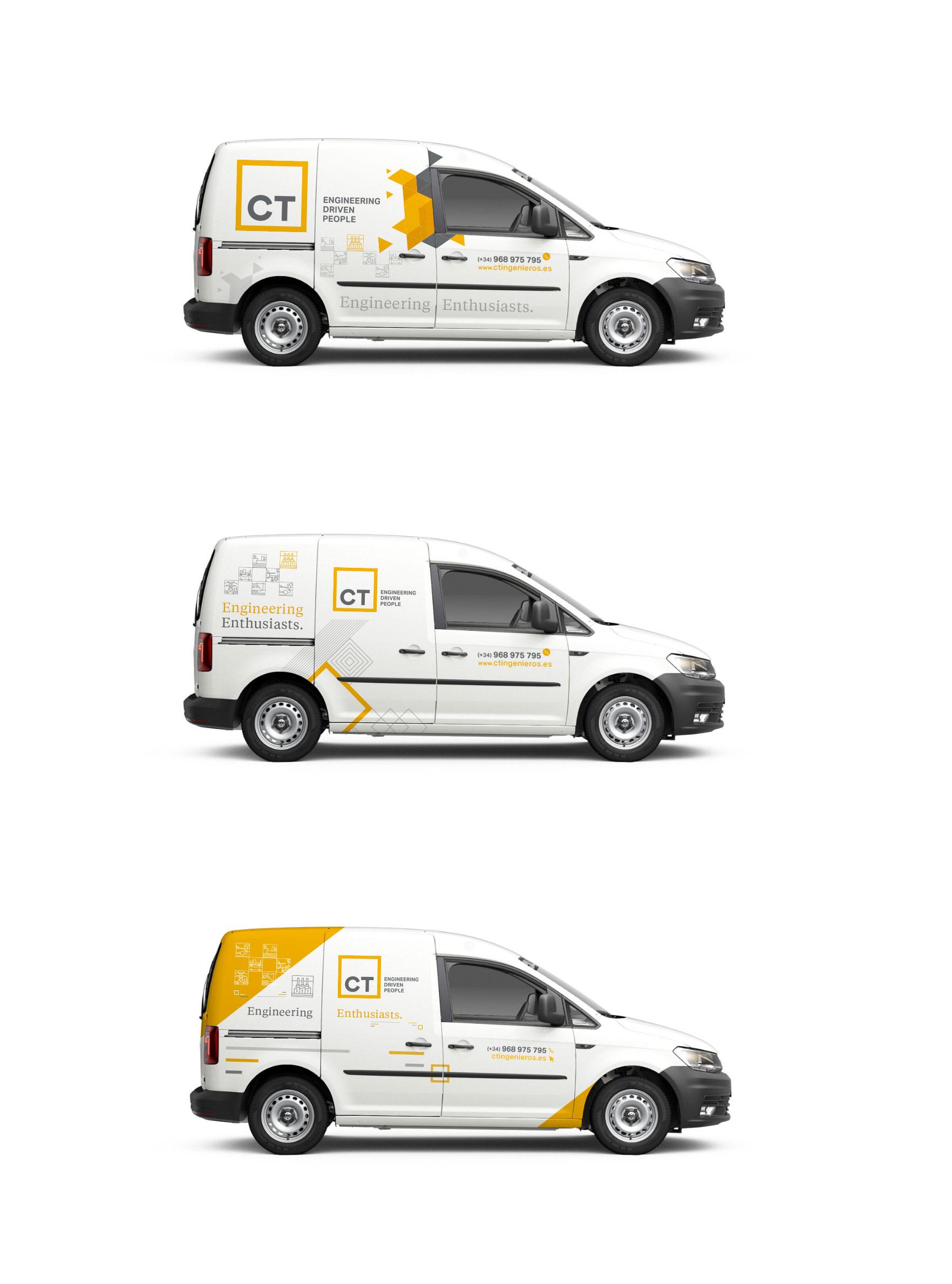 opciones diseño rotulación furgoneta