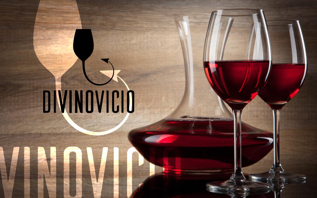 diseño logotipo restaurante divinovicio