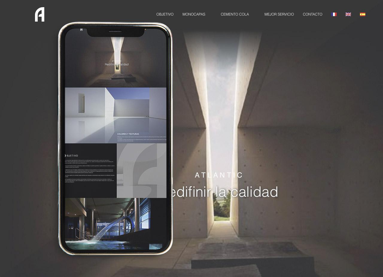 Diseño página web elegante en wordpress